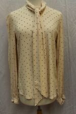 NWT Equipment Femme Cleone Print Removable Scarf Blouse Tunic Top M $325