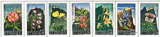 San Marino Mountains' Flora Flowers set 7 stamps 1967 MLH