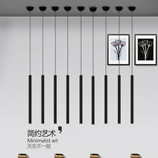 Modern Simple LED Cylindrical Pendant Lamp Hanging Chandelier Fixture Lighting