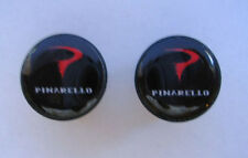 Pinarello handlebar bike caps, Pinarello Bike frame logo end plugs, Pinarello
