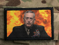 Explosive Mad Dog Mattis Morale Patch Tactical Military Army Badge Hook Flag