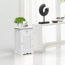 Wood Bedside Cabinets Tables Corner table With Shutter Door Cupboard Nightstands