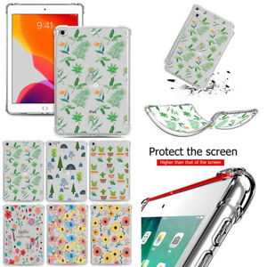 "For iPad 8th/7/6/5th Gen 10.2"" 2020 Pro 12.9/11 2020 Air 2 3 TPU Back Cover Case"