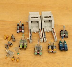 STAR WARS MICRO MACHINES  POD RACERS & 2 LAUNCHERS COLLECTION
