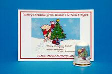 And The Band Plays /'Merry Christmas Everyone/' China Thimble B//15