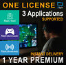 XSplit Gamecaster 1 YEAR Premium License(3 Application supported,free region)