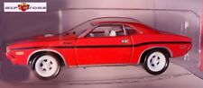 RARE WHITE LIGHTNING RED 70 DODGE CHALLENGER ONE LOOSE FROM TEN PACK NEW LIMITED