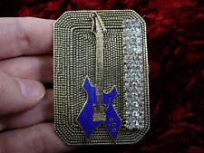 (m302-a1) B C Rich WARLOCK electric guitar PIN pendant JEWELRY I love my guitars