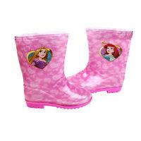Disney Princess Childrens Pink Girls Wellies Wellington Boots Kids Sizes