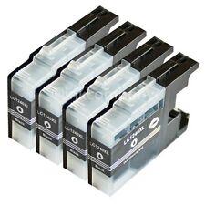 4 Brother Patronen black LC1240 XL für DCP J525W J725DW J925DW MFC J430W J625DW