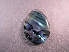 Abalone Shell Laminated Teardrop Top Drilled Pendant Bead 1pc