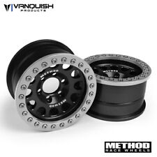 Vanquish VPS07911 Method 1.9 Race Wheel 105 Black/Clear Anodized (2)
