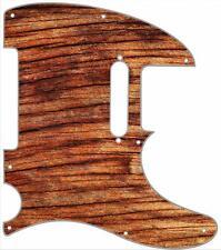 Telecaster Pickguard Custom Fender Tele 8 Hole Guitar Pick Guard Wood Old Vibe