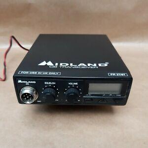 Midland 38 Cb Transceiver Radio PR27/97 With Cigarette Lighter Power Supply