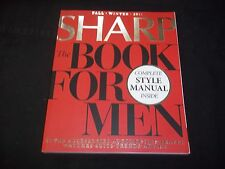 2011 FALL/WINTER SHARP MAGAZINE THE BOOK FOR MEN - FASHION & PHOTOS - J 1231