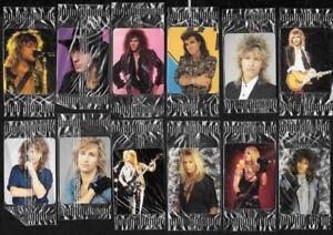 1987 HOSTESS The Ultimate Backstage Pass Bon Jovi P. Blonde Motley Crue SEE LIST
