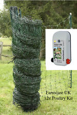 Poultry / Chicken Electric Netting GREEN  50 m * KIT*