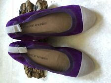 #SundayMarket: Taking Shape: Purple Suede, 'T.S' Comfort Flex Soles Size 38