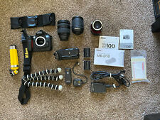 Nikon D100 6.1MP Digital SLR Camera - lightly used with Lots Of Goodies