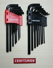 Craftsman 28pc - Hex Key Allen Wrench Set - Metric/SAE - With Bi-fold Carry Case