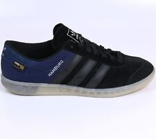 Adidas Hamburg Tech ++++ RARE++++ 11  Black / Navy  Halfshoe  NEW spezial samba