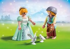 PLAYMOBIL #6843 PRINCESS AND HANDMAID DUO PACK SET BRAND NEW