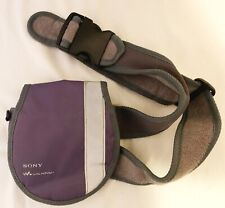 Vintage Sony Walkman Discman Cd Player Belt Case Fanny Pack Case Only