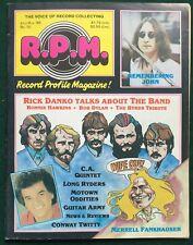 R.P.M. Record Profile Magazine #10 1985 ~Rick Danko, CA Quintet, Long Ryders...