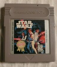 Star Wars Nintendo Gameboy game + booklet,  Star Wars.  Used.