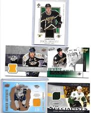 JASON ARNOTT LOT OF {5) DIFFERENT AUTHENTIC GAME USED JERSEY CARDS