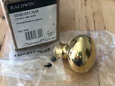 Baldwin Solid Polished Brass Doorknob 5000.031.IMR Handle Knob Handle 5000.031