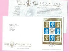 Royal Mail 2003 FDC - 50th Anniversary of CORONATION (Pane) - Shs TALLENTS HOUSE