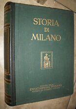 STORIA DI MILANO VOLUME IV 4 1152-1310 L'ETA COMUNALE -  ED:TRECCANI - 1954 (YM)