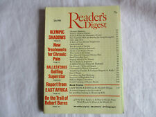 Reader's Digest Magazine July 1980 - Lady with a knife