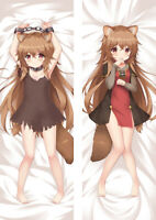 Anime Aneko Yusagi Raphtalia Dakimakura Body Hugging Pillow Case Cover 150CM