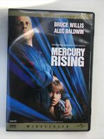 Mercury Rising (DVD, Widescreen 1998) In Mint Cond..