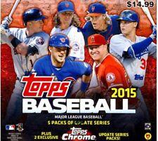 2015 TOPPS CHROME UPDATE Mega Box Bryant Correa Lindor RC ?
