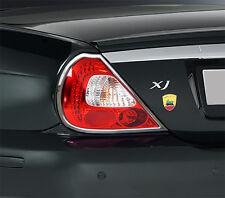 NEW PREMIUM CHROME REAR LIGHT TRIMS for JAGUAR XJ X350 X358 XJR XJ6 XJ8 03-07