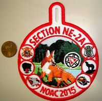 OA 100TH SECTION NE-2A NOAC 2015 FLAP 83 10 28 286 FOX CENTENNIAL POCKET PATCH