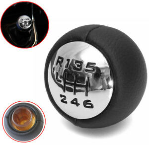 6 Speed Gear Stick Shift Shifter Knob For Peugeot 307 308 3008 407 5008 807