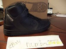 NEW Converse Weapon Mid Black 3M reflective Larry Bird size 10.5