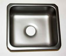 "Kitchen Prep Bar Utility Sink Madison Top-Mount Single Bowl 18x16x9"" PF19098 NEW"
