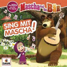 CD * MASCHA UND DER BÄR - SING MIT MASCHA! - HITS AUS DER TV-SERIE # NEU OVP =