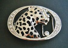 Rhinestone Wild Animal Bengal Tiger Fashion Belt Buckle Boucle de Ceinture