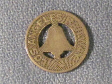 **** Los Angeles Railway Transit Token / Must have in any collection.