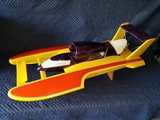 Miss LUMAR 1/8 Scale Gas RC Boat Zenoah PROBOAT  FULL CUSTOM HULL budweiser