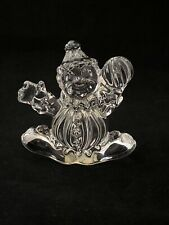 Princess House CLANCY THE CLOWN Figurine 24% Lead Crystal #841 Made in Germany
