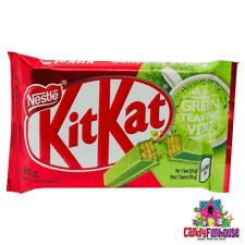 Big Japanese Nestle Matcha Strong Flavor Green Tea Kitkat Chocolate x 4 bars
