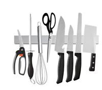 New Magnetic Knife Strip Stainless Steel Knife Holder Rack Kitchen Knife Bar