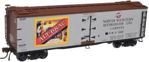 Atlas 20003087 HO Alt-Brau Beer NWX 40' Wood Reefer #1015 EX/Box